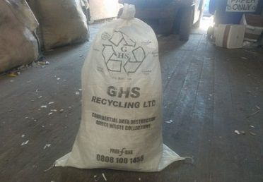 GHS recycling sack